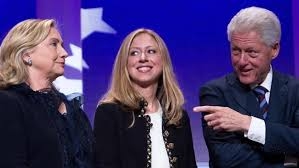Bill, Hilary y Chelsea Clinton